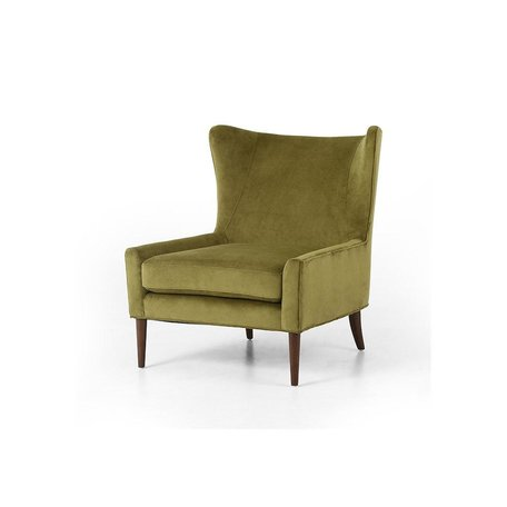 Marla Wing Chair in Bella Apple