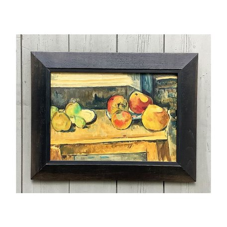 Vintage 1962 Artist Copy of Cezanne's Apples