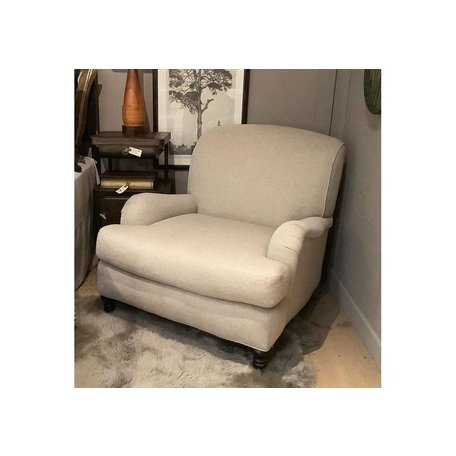 Loren Tailored Chair in Amalfi Cream