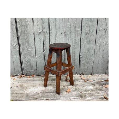 Early 20th Century Draftsman Stool