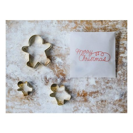 Gingerbread Cookie Cutters, Set of 3