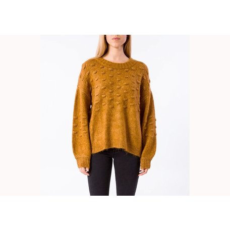 Bisoux Sweater in Rust S/M