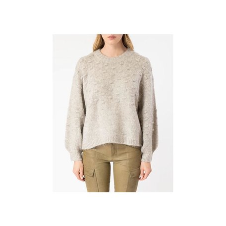 Bisoux Sweater in Light Stone M/L