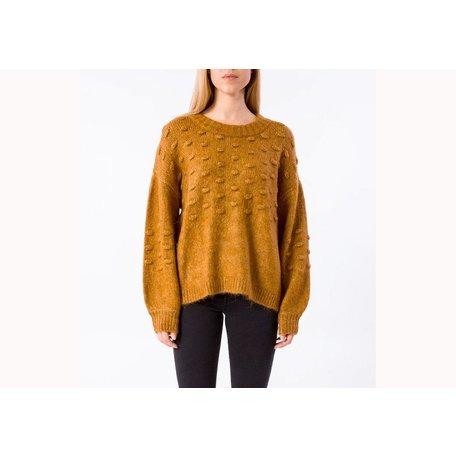Bisoux Sweater in Rust M/L