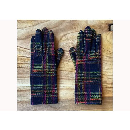 IXLI Fleece Gloves in Tilt Navy