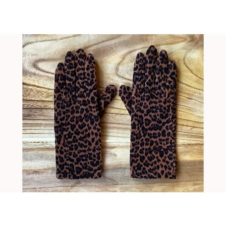 IXLI Fleece Gloves in Jungle Brown