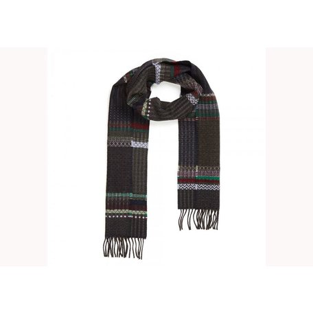 Wallace Sewell Dark Wool Diffusion Scarf