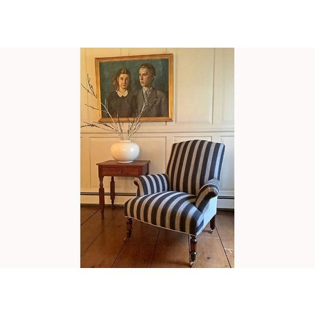 Fritillaria Chair in Rayes Noir by John Derian for Cisco Brothers