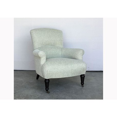 Miranda Tailored Chair #1235-01 in Amalfi Stone by Lee Industries