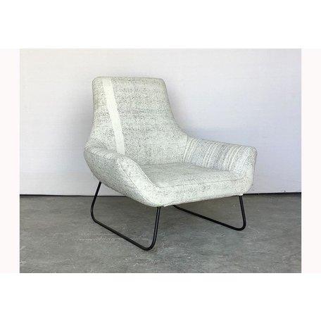 Slide Chair in Vintage Hemp Rug by Cisco Brothers