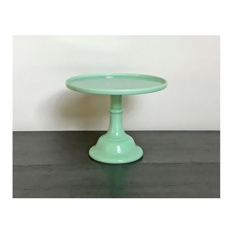 Vintage Jadeite Cake Stand