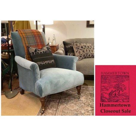 Rebecca Chair in Vivid Azure