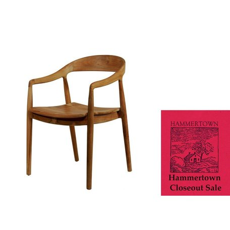 Sophie Arm Chair in Salvaged Teak
