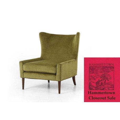 Marla Wing Chair in Bella Apple