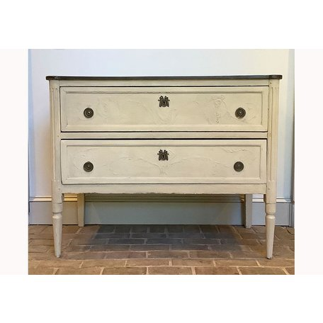 Vintage Painted French Chest