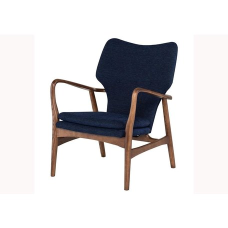 Nora Chair in True Blue