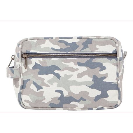 Canvas Travel Kit in Light Camo