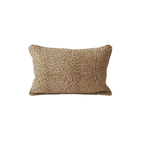 Uzes Rust Linen Pillow 12x18 w/ Filler