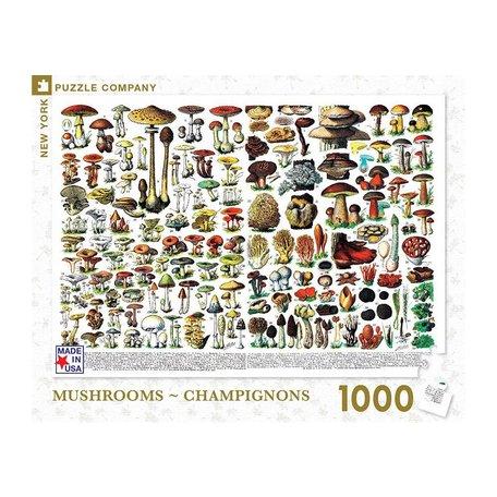 Mushrooms Champignons 1000 Piece Puzzle