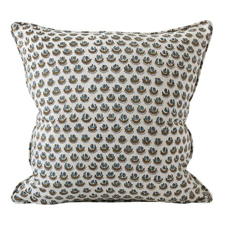 Cadiz Tobacco Linen Cushion 20x20 w/ Filler