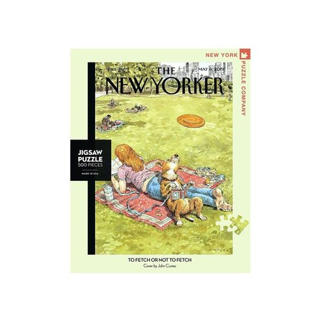 New Yorker To Fetch or Not to Fetch 500 Piece Puzzle
