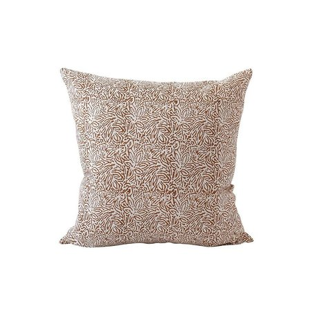 Amalfi Rust Linen Pillow 20x20 w/ Filler