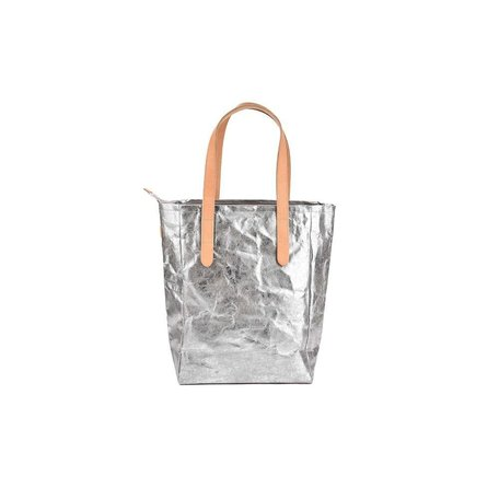 Shine Bag in Nuvola Grey/Sliver