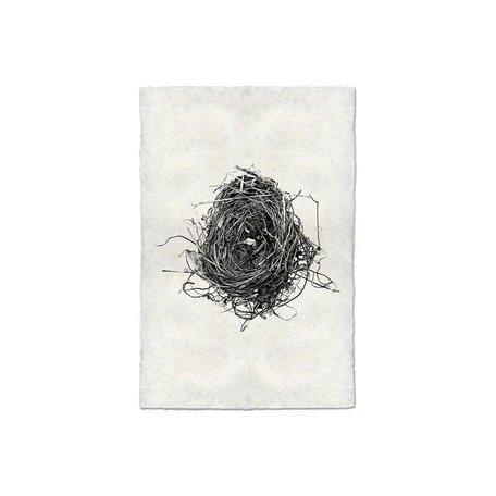 Handmade Paper Print Nest #8