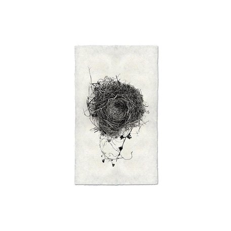 Handmade Paper Print Nest #3