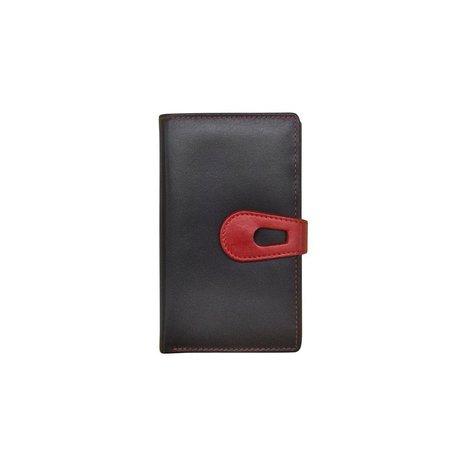 Midi Wallet Black/Red
