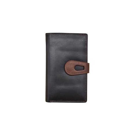 Midi Wallet Black/Toffee
