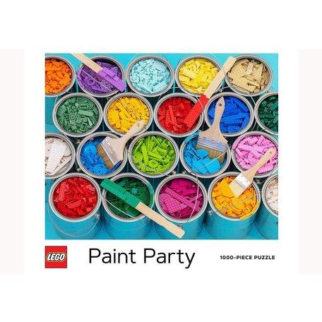 Lego Paint Party 1000 Piece Puzzle