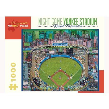 Night Game Yankee Stadium 1000 Piece Puzzle