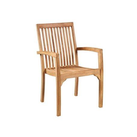Arden indoor/Outdoor Teak Arm Chair