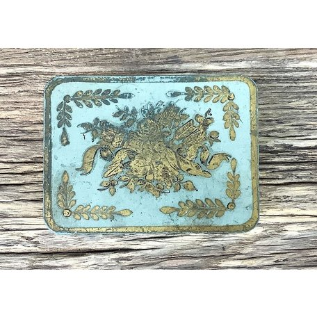 Vintage French Tin, B