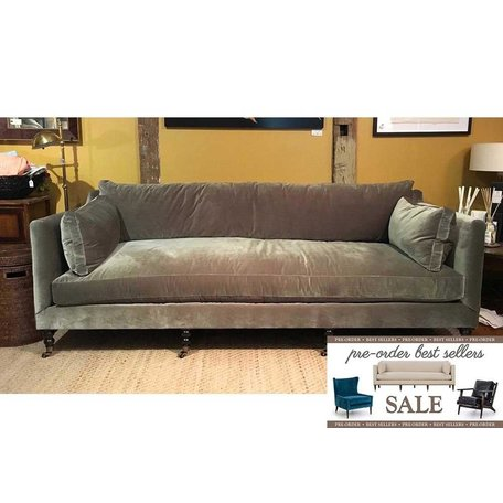 "Monique 90"" Sofa in Sage w/ Down Blend Cushions Pre-Order Sale"