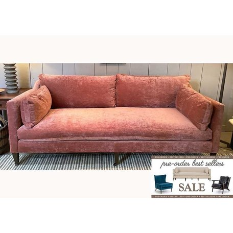 Hannah Sofa in Cimarron w/ Feather Down and Chocolate Finish  Pre-Order Sale