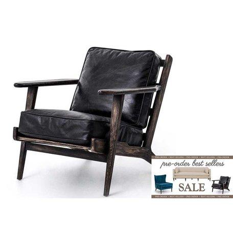 Brooks Lounge Chair in Ebony Pre-Order Sale