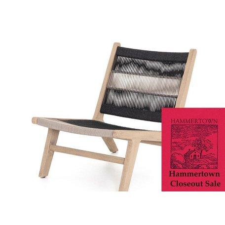 Jasper Indoor/Outdoor Chair in Washed Brown