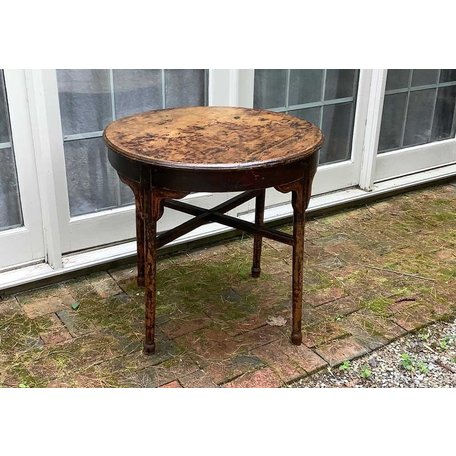 Vintage Black Italian Table