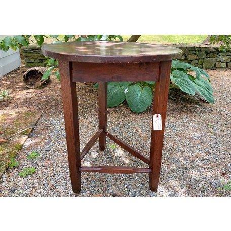 Vintage Walnut Cricket Table