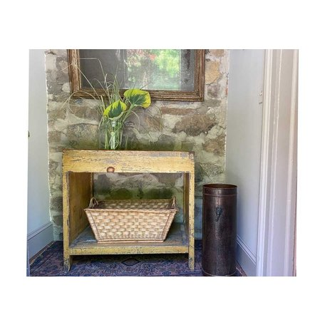 Vintage Painted New England Dry Sink