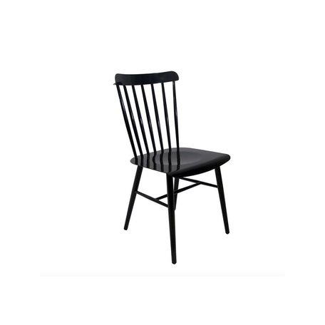 Metal Windsor Mod Chair in Black