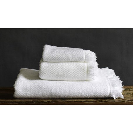 Antico Wash Towel in White