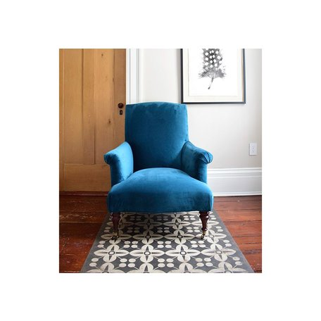 Rebecca Chair in Vivid Peacock by MGBW