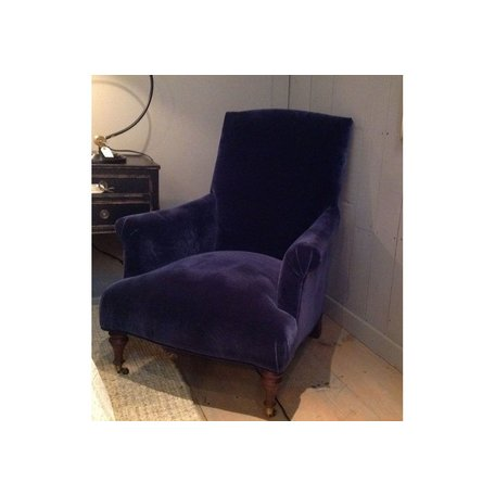 Rebecca Chair in Linley Blue by MGBW