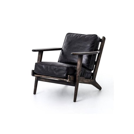Brooks Lounge Chair in Ebony