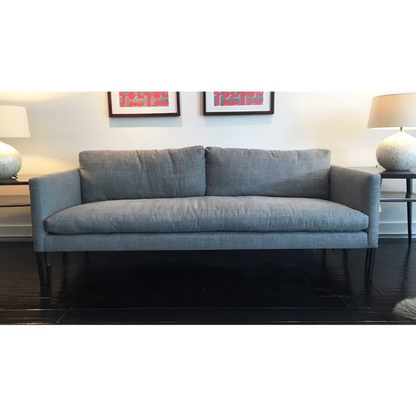 "Morgan 83"" Sofa #7099-03 in Sahara Shale w/ Haven Package by Lee Industries"