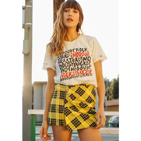 Daydreamer No Doubt Rock Steady Tee Vintage White