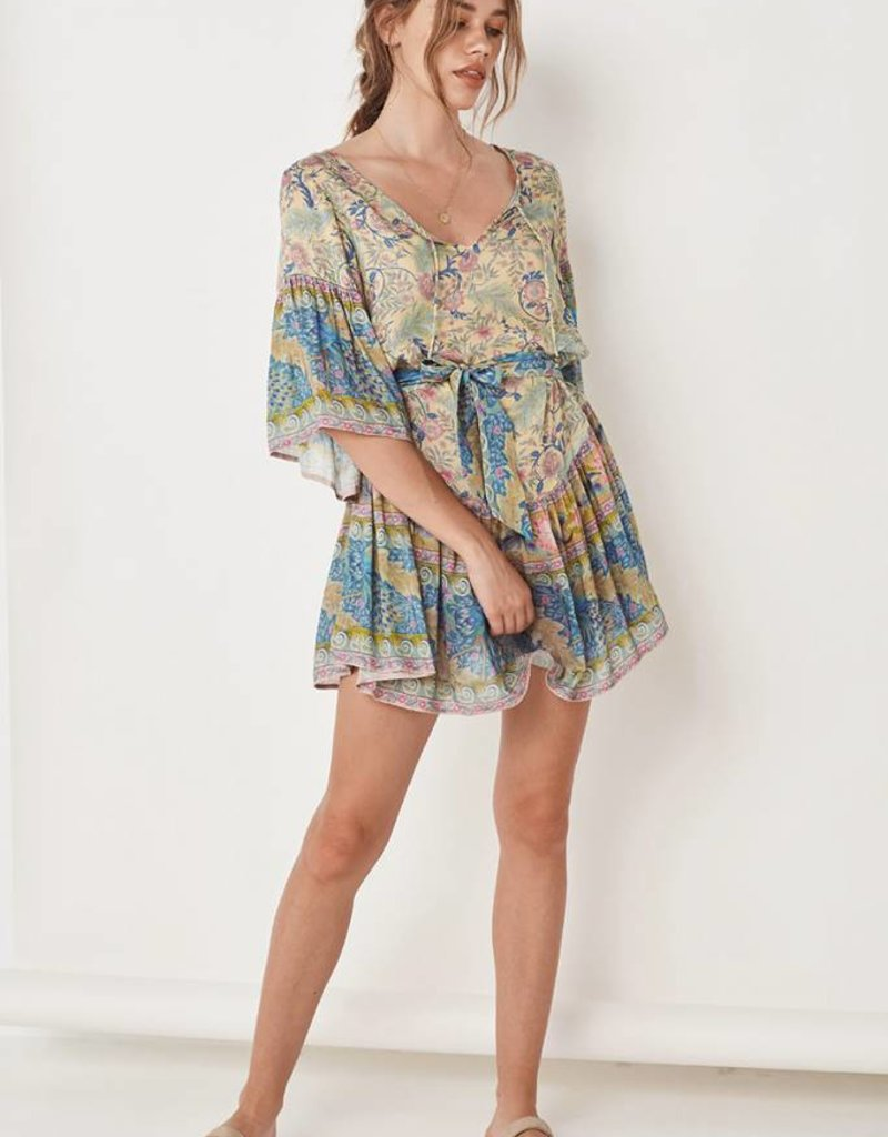 20480f8cf0 Spell and the Gypsy Collective Oasis Mini Dress - Opal